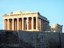 ακρόπολη Αθήνα parthenon Στοκ Φωτογραφίες