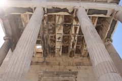 Ακρόπολη της Αθήνας - Arrephorion Στοκ Εικόνες
