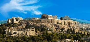 Ακρόπολη Parthenon στην Αθήνα Ελλάδα στοκ φωτογραφίες