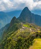 Ακρόπολη Picchu Inca Machu, Cusco, Περού στοκ εικόνα με δικαίωμα ελεύθερης χρήσης