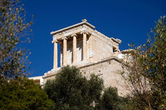 Ακρόπολη ναών Αθηνάς Στοκ φωτογραφία με δικαίωμα ελεύθερης χρήσης