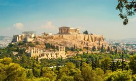 Ακρόπολη της Αθήνας Στοκ εικόνα με δικαίωμα ελεύθερης χρήσης