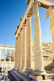 Ακρόπολη της Αθήνας Στοκ Εικόνες