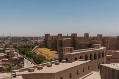 Ακρόπολη του Αφγανιστάν της καρδιάς στοκ εικόνες