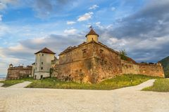 Ακρόπολη Brasov στοκ εικόνες