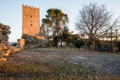 Ακρόπολη Civitavecchia Di Arpino, Ιταλία Στοκ Φωτογραφία