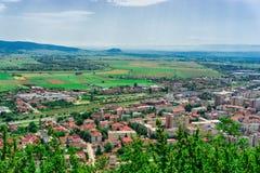 Ακρόπολη Deva, Ρουμανία Στοκ Εικόνες