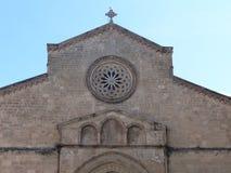 Ακρότητα της εκκλησίας του SAN Francesco δ ` Assisi στο Παλέρμο, Σικελία, Ιταλία στοκ φωτογραφίες
