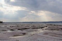 Ακτές της λίμνης Garda Στοκ εικόνα με δικαίωμα ελεύθερης χρήσης