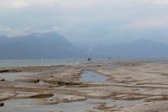 Ακτές της λίμνης Garda Στοκ φωτογραφίες με δικαίωμα ελεύθερης χρήσης