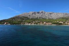 Ακτές του νησιού στην Κροατία Στοκ εικόνες με δικαίωμα ελεύθερης χρήσης