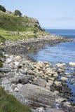 Ακτή δίπλα στον κόλπο δουλεμπόρων, παραλία Murlough  Κομητεία Antrim Στοκ Φωτογραφίες