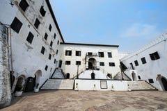 Ακτή ακρωτηρίων Elmina Castle - Γκάνα, Αφρική Στοκ Εικόνες