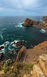 Ακτή Αλγκάρβε, Πορτογαλία του θερινού Ατλαντικού Ωκεανού Στοκ εικόνες με δικαίωμα ελεύθερης χρήσης