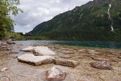 ακτή βράχων Στοκ φωτογραφίες με δικαίωμα ελεύθερης χρήσης