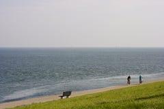 ακτή Βόρεια Θάλασσα Στοκ φωτογραφία με δικαίωμα ελεύθερης χρήσης