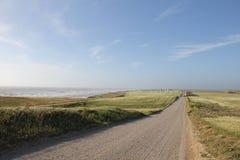 Ακτή Βόρεια Θαλασσών στοκ φωτογραφία
