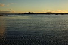 Ακτή Βόρεια Θαλασσών Στοκ Φωτογραφίες