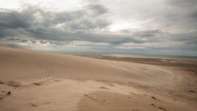 ακτή Δανία Στοκ φωτογραφία με δικαίωμα ελεύθερης χρήσης