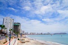 Ακτή ειρηνικού. αλυκές. Ισημερινός. Νότια Αμερική στοκ εικόνα με δικαίωμα ελεύθερης χρήσης