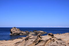 ακτή ερήμων Στοκ Εικόνα