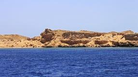 Ακτή Ερυθρών Θαλασσών στο έδαφος Ras Μωάμεθ Στοκ εικόνες με δικαίωμα ελεύθερης χρήσης
