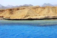 Ακτή Ερυθρών Θαλασσών στο έδαφος Ras Μωάμεθ Στοκ φωτογραφία με δικαίωμα ελεύθερης χρήσης