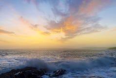 ακτή ιρλανδικά Στοκ Φωτογραφίες
