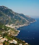 ακτή Ιταλία της Αμάλφης Στοκ Εικόνες
