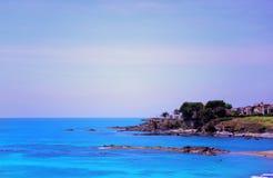 ακτή Ιταλία της Καλαβρίας Στοκ φωτογραφία με δικαίωμα ελεύθερης χρήσης