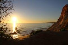 Ακτή και παραλία του Αλγκάρβε Στοκ φωτογραφία με δικαίωμα ελεύθερης χρήσης