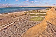 Ακτή και παραλία Στοκ Φωτογραφία
