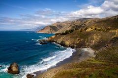 Ακτή Καλιφόρνιας - μεγάλη ακτή Sur Στοκ εικόνες με δικαίωμα ελεύθερης χρήσης
