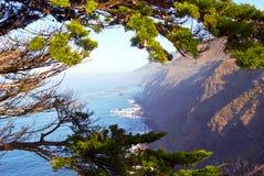 ακτή Καλιφόρνιας carmel Στοκ Φωτογραφία