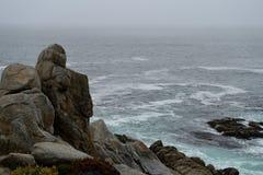Ακτή κατά μήκος του Drive 17 μιλι'ου Στοκ Εικόνες
