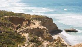 ακτή Καλιφόρνιας νότια Στοκ εικόνα με δικαίωμα ελεύθερης χρήσης