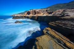 Ακτή Καλιφόρνιας Στοκ εικόνα με δικαίωμα ελεύθερης χρήσης