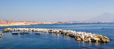 Ακτή κοντά σε Napoli, Ιταλία Στοκ φωτογραφία με δικαίωμα ελεύθερης χρήσης
