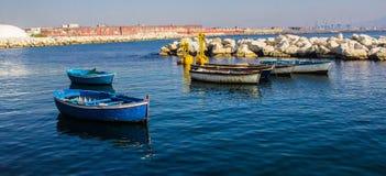 Ακτή κοντά σε Napoli, Ιταλία Στοκ εικόνα με δικαίωμα ελεύθερης χρήσης