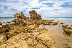Ακτή κυματωγών: Anglesea Βικτώρια Στοκ Εικόνα