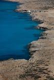 ακτή Κύπρος Στοκ Φωτογραφία