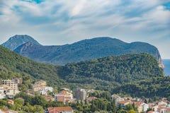 Ακτή Μαυροβούνιο Petrovac Στοκ Εικόνες
