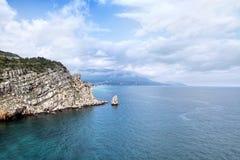Ακτή Μαύρης Θάλασσας Στοκ εικόνα με δικαίωμα ελεύθερης χρήσης
