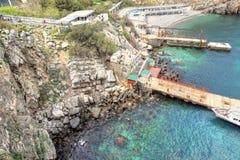 Ακτή Μαύρης Θάλασσας Στοκ εικόνες με δικαίωμα ελεύθερης χρήσης