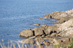 Ακτή Μεσογείων Στοκ Εικόνες