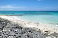 Ακτή νησιών Καραϊβικής Στοκ φωτογραφία με δικαίωμα ελεύθερης χρήσης
