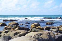 ακτή νορβηγικά στοκ φωτογραφία