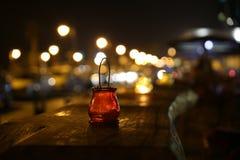 Ακτή νύχτας Στοκ Εικόνες