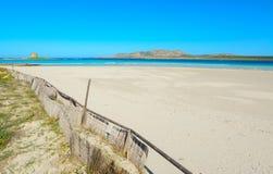 Ακτή παραλιών Λα Pelosa Στοκ φωτογραφίες με δικαίωμα ελεύθερης χρήσης