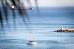 Ακτή Πορτογαλία του Κασκάις και του Εστορίλ στοκ φωτογραφίες με δικαίωμα ελεύθερης χρήσης
